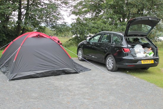 Park Foot Holiday Park: our tent