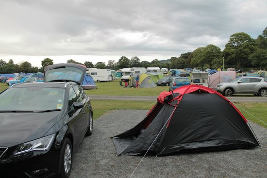 Park Foot Holiday Park: full view of family/couples block