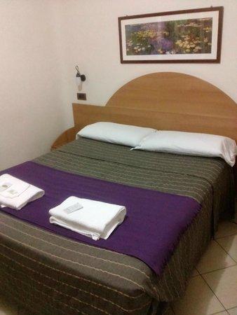 Hotel Milano : Il letto