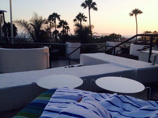 Loews Santa Monica Beach Hotel: Beautiful view at Loews hotel