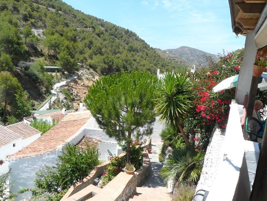 Life Adventure: Jeep Tours & Activities in Nerja: View from our lunchtime table