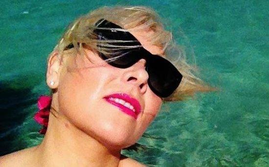 Preskil Beach Resort: Selfie by the beach at Preskil Resort