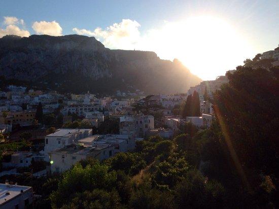 Villa Helios: Vista dalla camera
