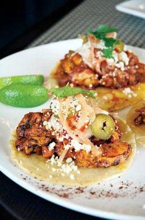 Milagro Grill: Chicken Tacos