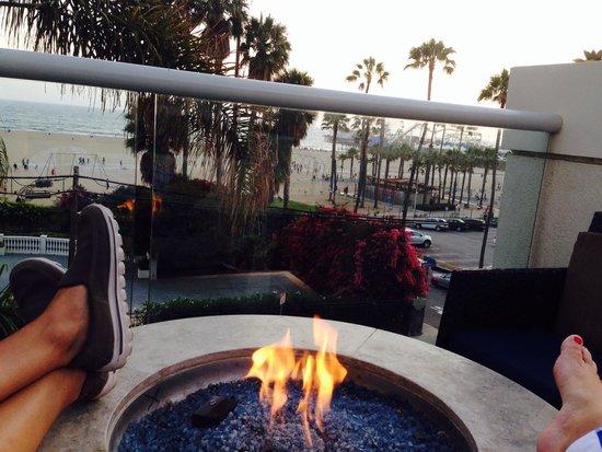 Loews Santa Monica Beach Hotel: Amazing view from Loews hotel