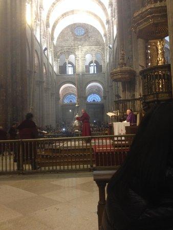 Cathédrale de Saint-Jacques-de-Compostelle : Botafumeiro