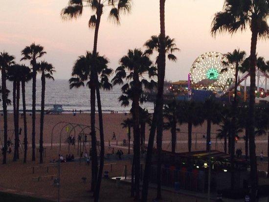 Loews Santa Monica Beach Hotel: Room view at Loews hotel
