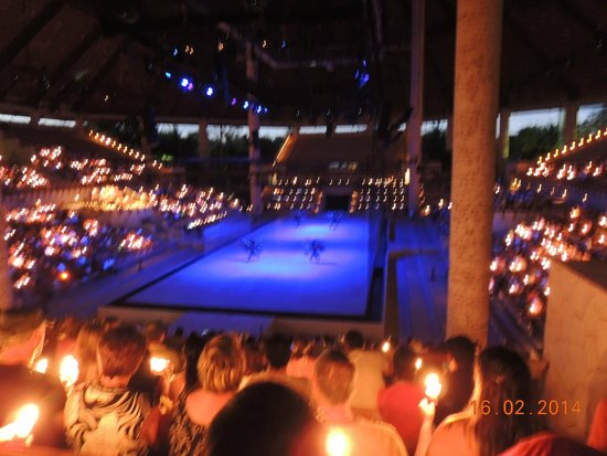 Xcaret Eco Theme Park: Espectáculo de cierre