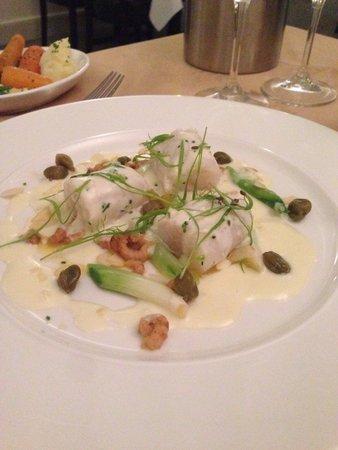 Cullens Restaurant: Beautifully presented main