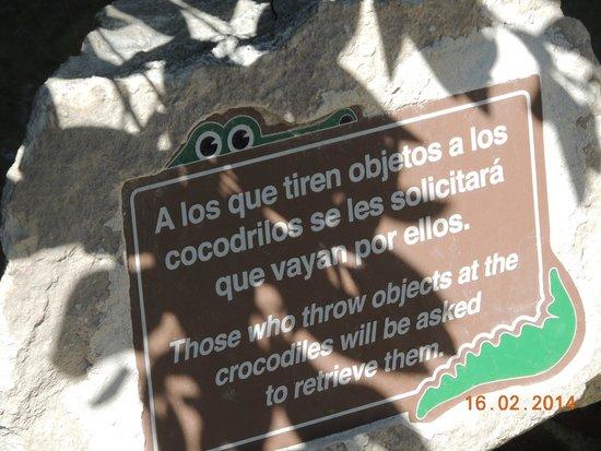 Xcaret Eco Theme Park: Muy persuasivo