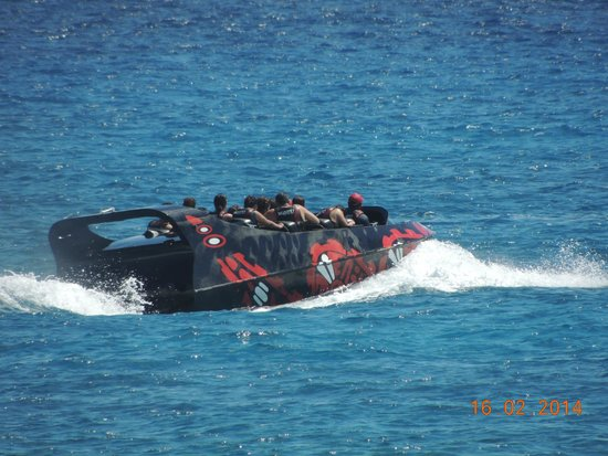 Xcaret Eco Theme Park: Adrenaline