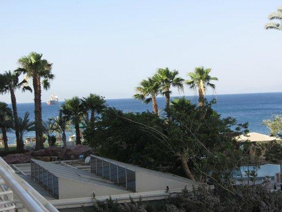 Leonardo Plaza Hotel Eilat: Piece of sea from room 239