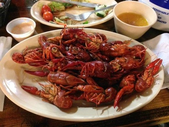 LeBleu's Landing : Crawfish