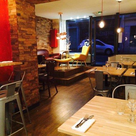 salle restaurant photo de restaurant comptoir canailles paris tripadvisor. Black Bedroom Furniture Sets. Home Design Ideas