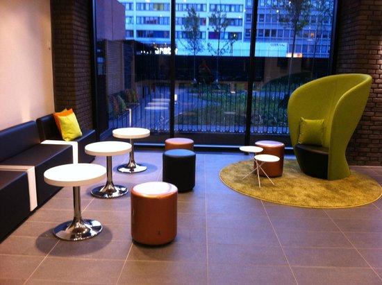 Wakeup Copenhagen, Borgergade: In the lobby