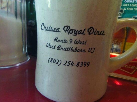 Chelsea Royal Diner: Good coffee too!