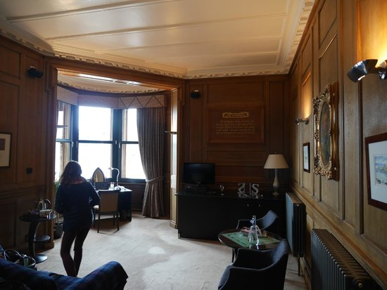 The Scotsman Hotel : Our Room