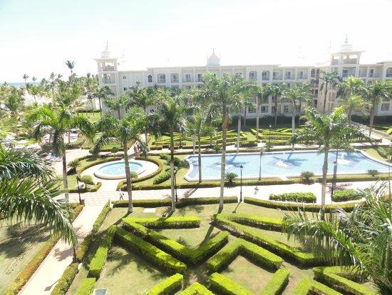 Hotel Riu Palace Punta Cana: Отель из номера