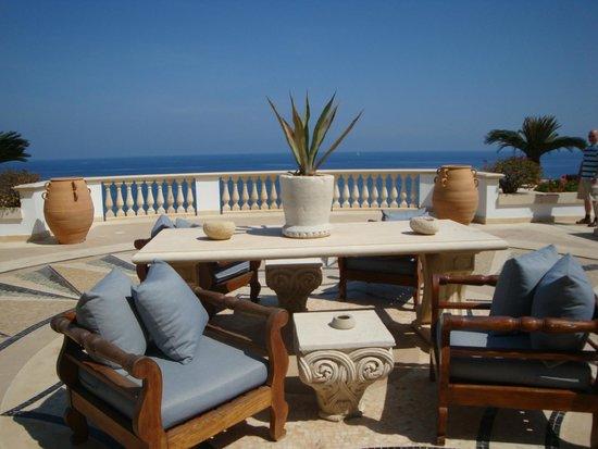 Anassa Hotel: Terrasse