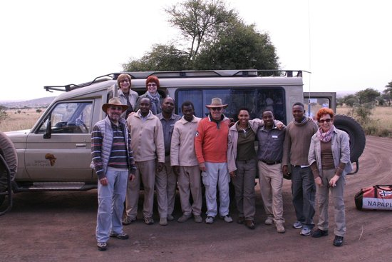 Dunia Camp, Asilia Africa : family picture...