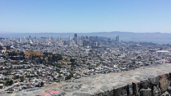 Twin Peaks: vista do local