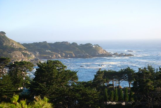 Hyatt Carmel Highlands: View from our fantastic ocean view suite