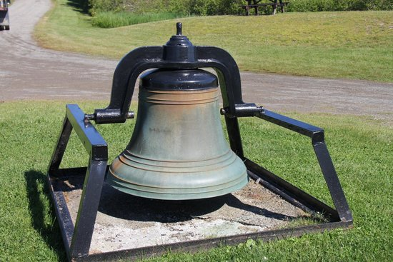 West Quoddy Head Light: Fog bell