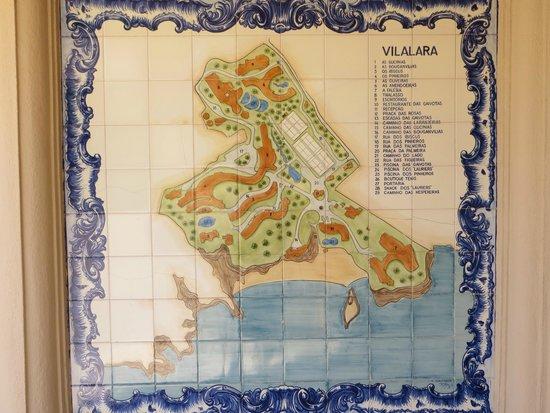 Vilalara Thalassa Resort : Lageplan