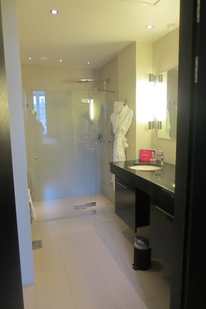 Grand Hotel : Spacious bathroom (room 436)