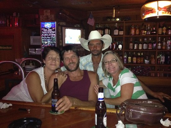 Crabbie Dad's Bar & Spirits : Some of the crew!! Round here it's more like family!!!
