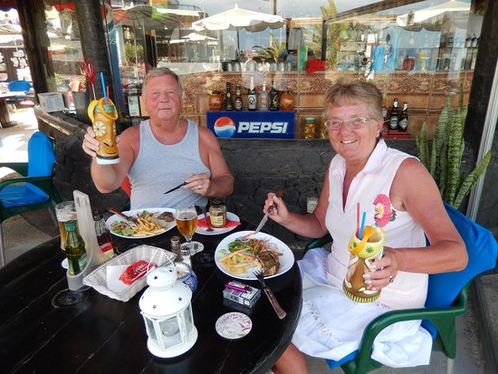 Surfwings Bar: Yet another great meal....