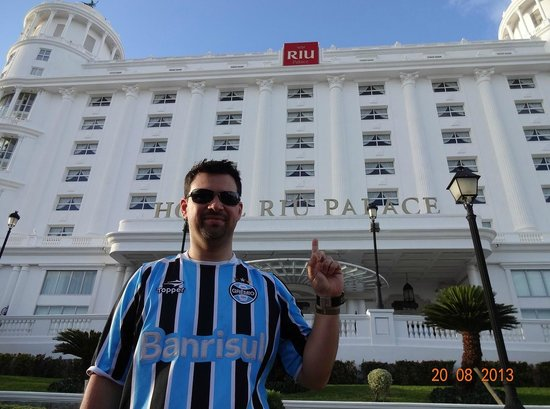 Hotel Riu Palace Las Americas: Frente do hotel