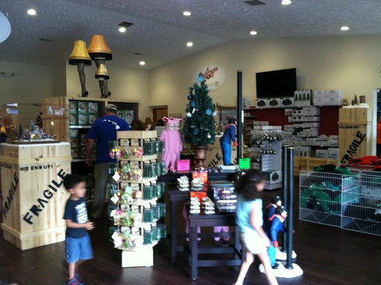 A Christmas Story House: Gift shop