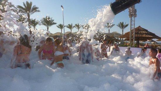 Rixos Sharm El Sheikh : Foam party
