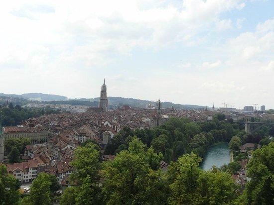 Rose Garden (Rosengarten): Vista para a cidade