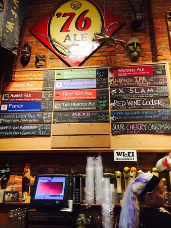 Bell's Eccentric Cafe : Decisions, Decisions!