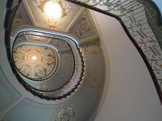 Musee Art Nouveau : trappenhuis