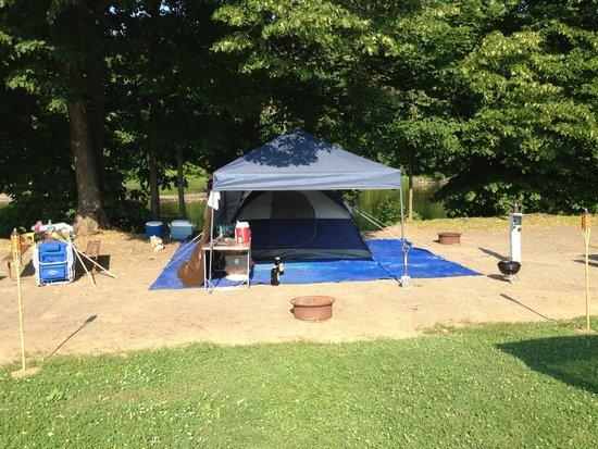 Yogi Bear's Jellystone Park Camp-Resort Gardiner : Campsite