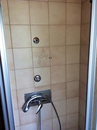 Luley's Europa Hotel: Missing shower holder and aceesories