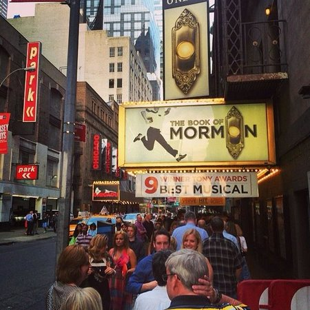 The Book of Mormon: Line up