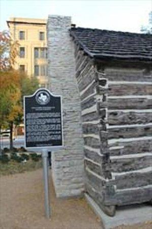 John Neely Bryan Cabin: John Nealy Bryan Cabin Dallas TX Historic Marker