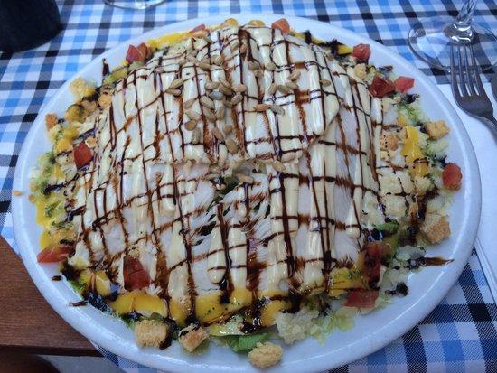 L'atelier Clandestino Gourmet: Nok en utrolig salat fra Clandestino- Caesar Salad