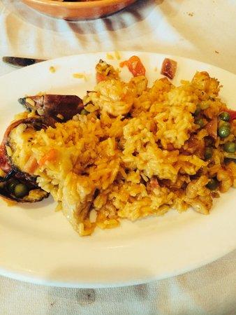 La Taberna DE San Roman: Paella!!!