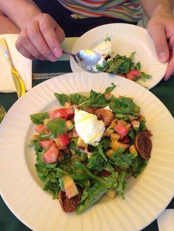 Kerasma Restaurant: Салат какой-то там с инжиром)