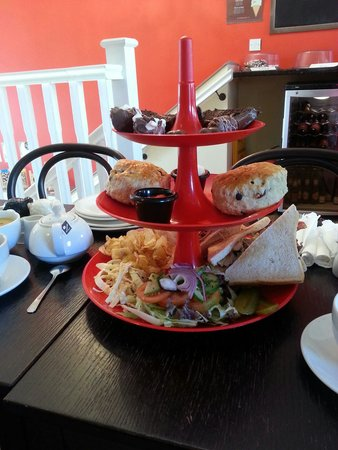 Chocolate Cafe: Afternoon tea for 2, very nice :-)