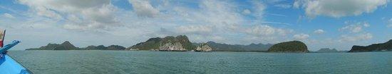Hansar Pranburi Resort: Islands