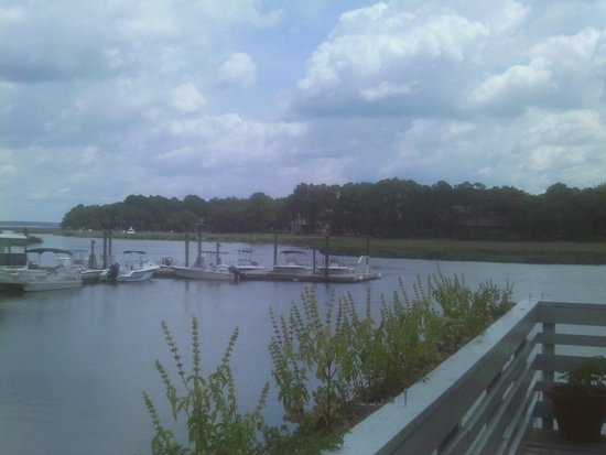 Salty Dog Cafe : Salty Dog deck view