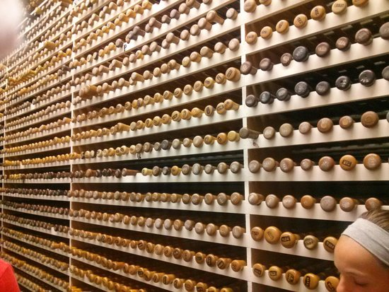 Louisville Slugger Museum & Factory : bat vault was neat too!