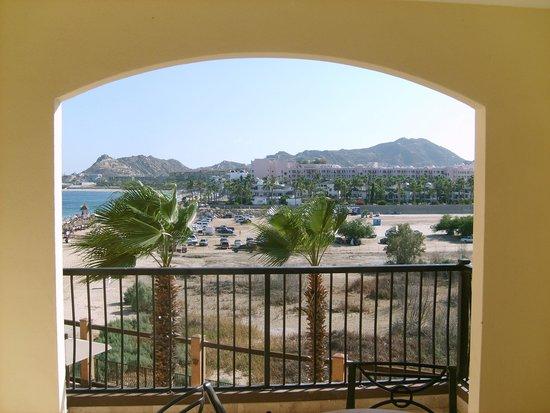 Villa del Arco Beach Resort & Spa: Partial beach and Mountain view from balcony