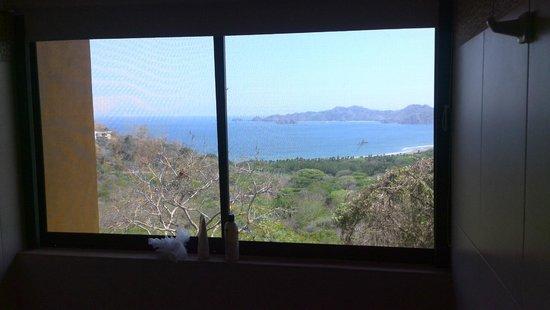 Vista Las Islas Hotel: Ausblick aus der Dusche